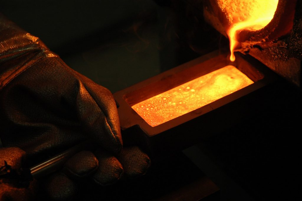 The Process of Refining Gold