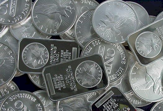 Silver's Spot Price in Canadian Dollars (CAD)